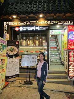South Korea Seoul Food Bulgogi Brothers Myeongdong
