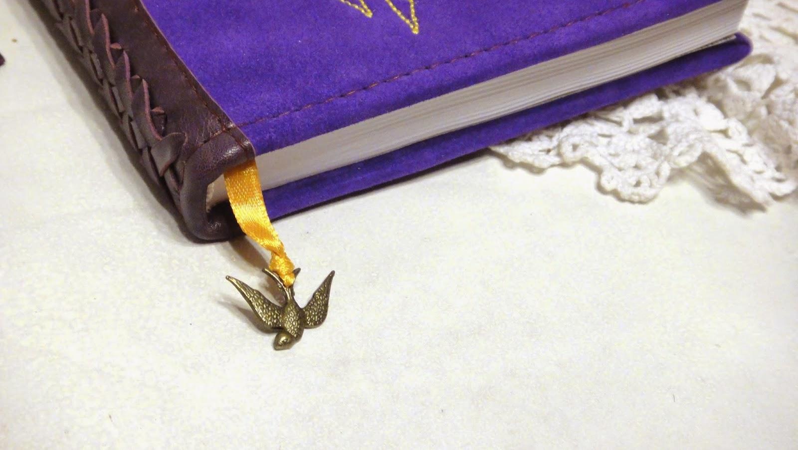 Ежедневник ручной работы Стрелец - машинная вышивка на заказ