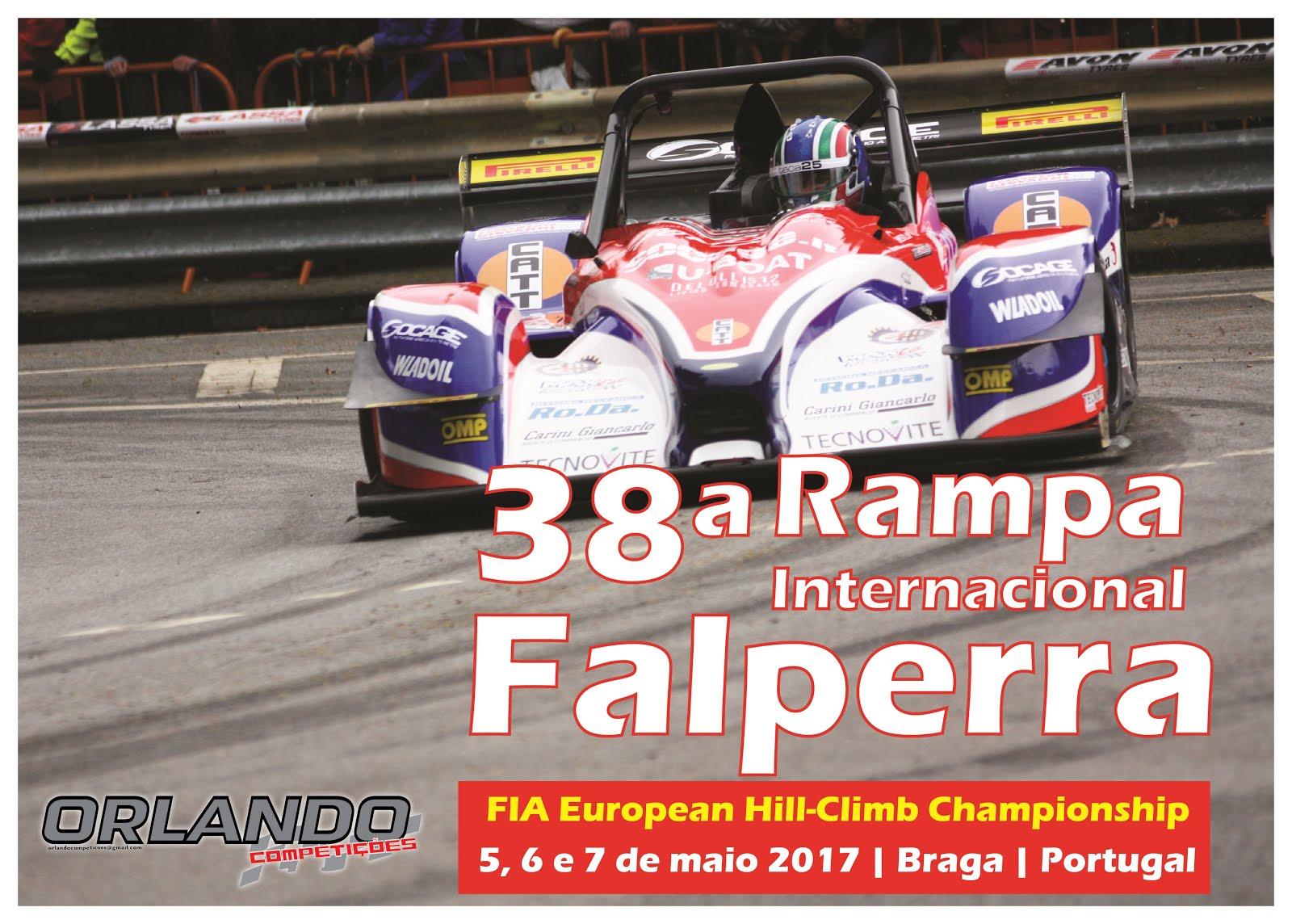 Rampa da Falperra 2017 | informações da prova - event informations