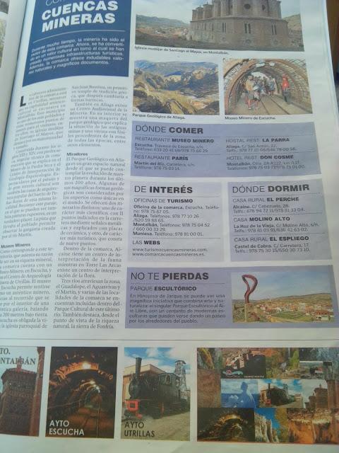 Cuencas Mineras Teruel Anuario turístico  de Aragón 2013