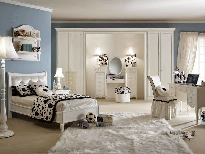 deco chambre ado fille chambre de fille. Black Bedroom Furniture Sets. Home Design Ideas