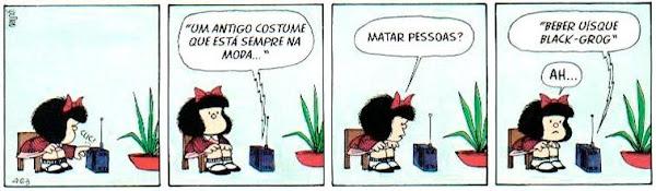 Mafalda (Quino) - um antigo costume que está sempre na moda