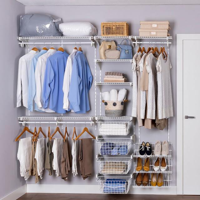 Armário aramado kit 22 - Closet ou quarto