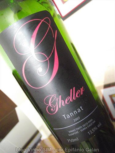 Gheller Tannat 2007 eleito Vinho de Dezembro 2012
