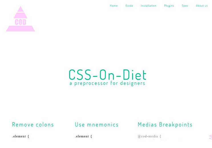 CSS-On-Diet