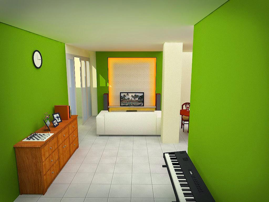 Renovasi Ruang Keluarga