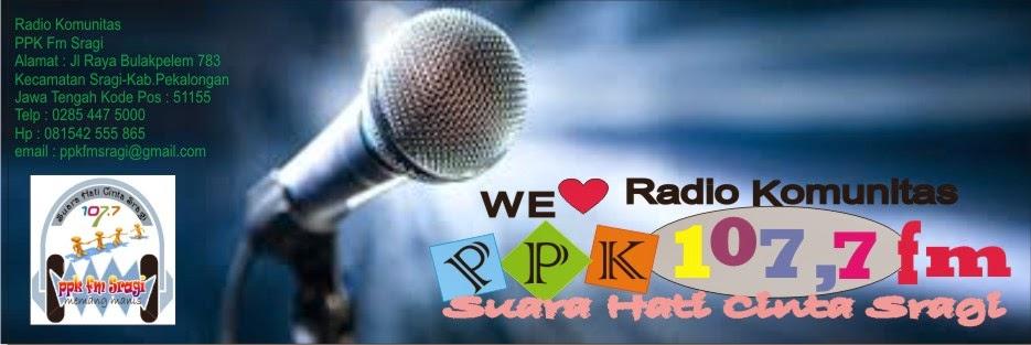 radio Komunitas PPK Fm Sragi
