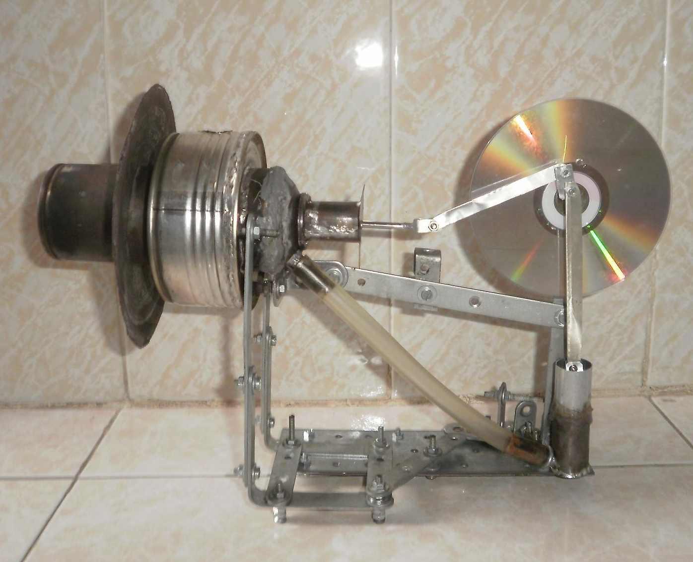Displacer Stirling Engine Design