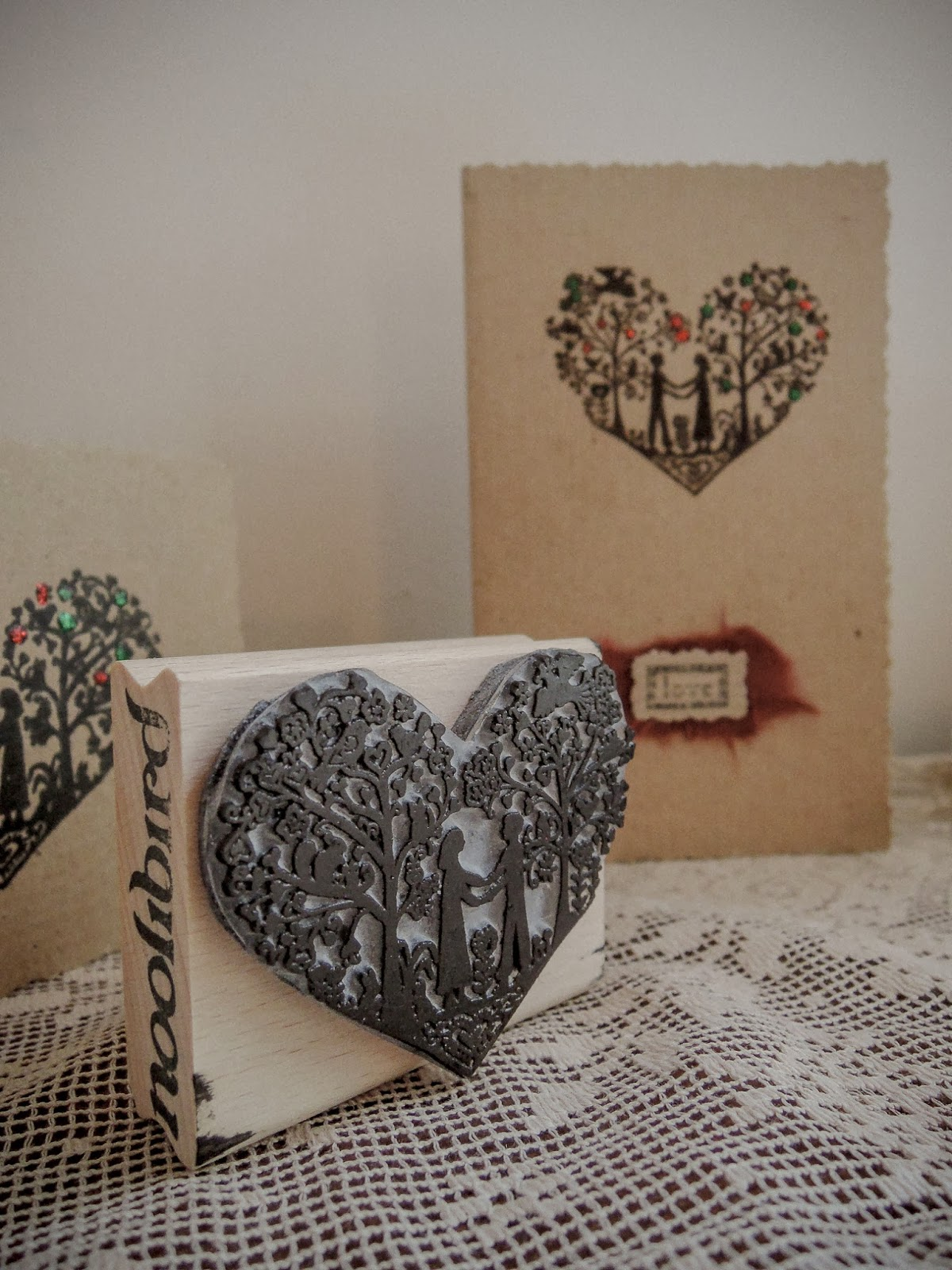 Noolibird stamp - How to make your own cards