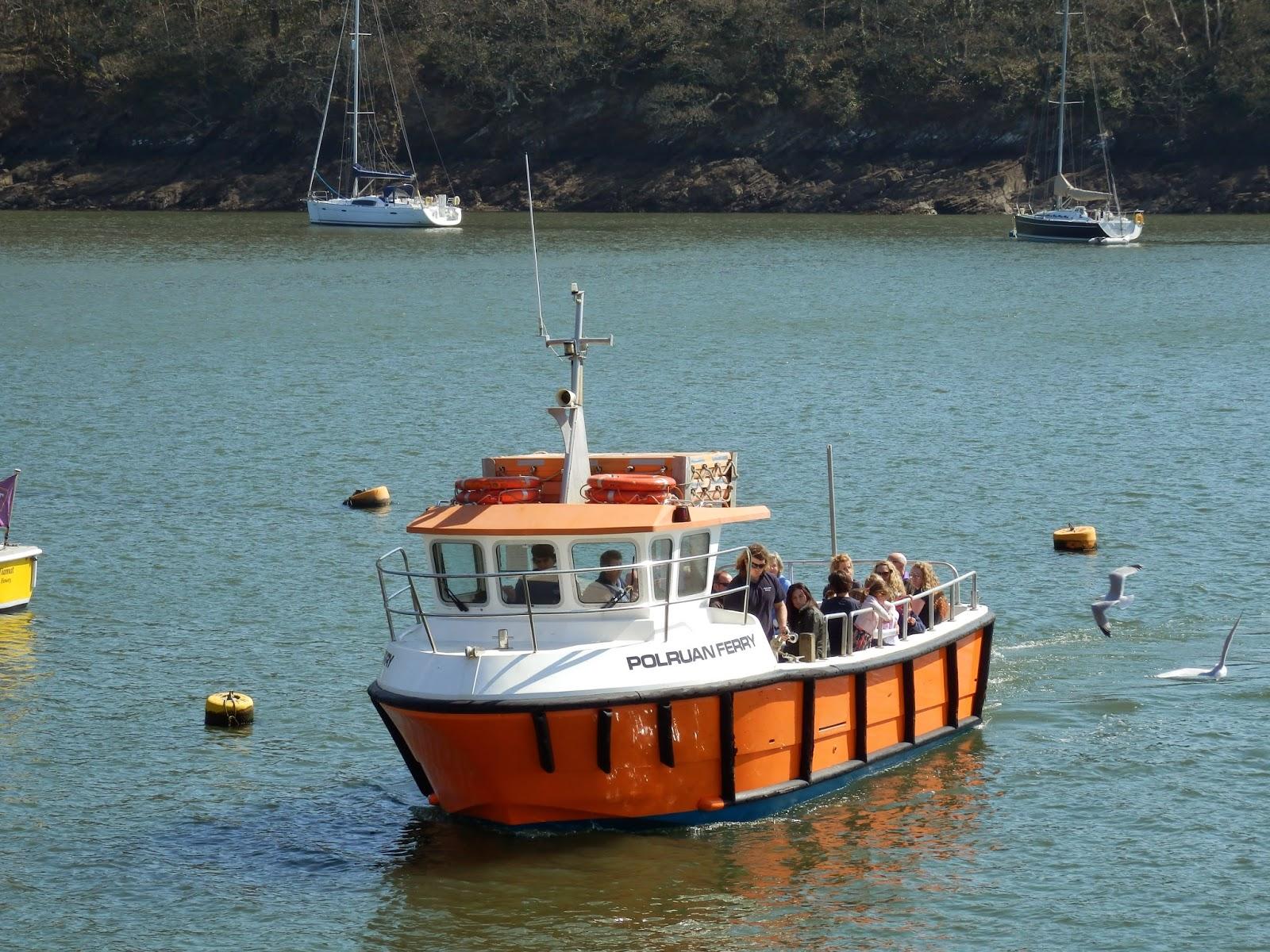 Passenger Ferry Fowey to Polruan Cornwall