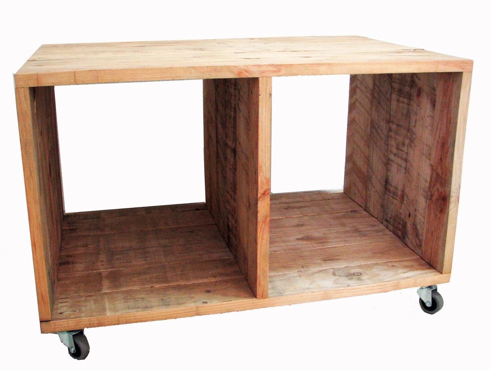 Urban wood mesa auxiliar con ruedas - Mesa auxiliar con ruedas ...