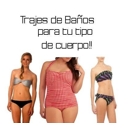 Trajes de ba o para diferentes tipos de cuerpo moda lista - Todo para tu bano ...