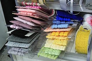 Spetsar i färg
