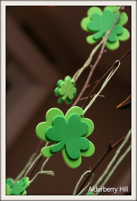Mini St. Pat`s Tree