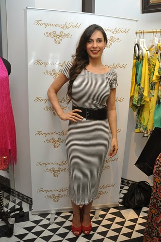 Famous Stars at The Flagship Store Launch of Turquoise And Gold
