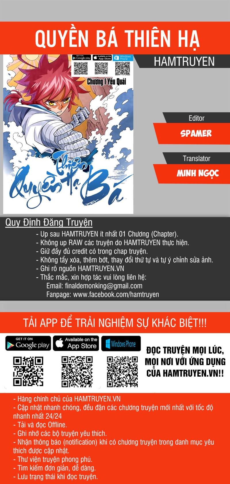 Quyền Bá Thiên Hạ chap 168 - Trang 1