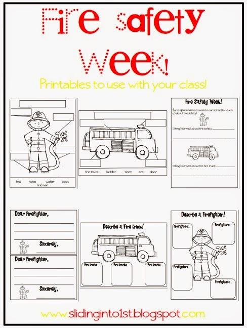http://www.teacherspayteachers.com/Product/Fire-Safety-Printables-343726