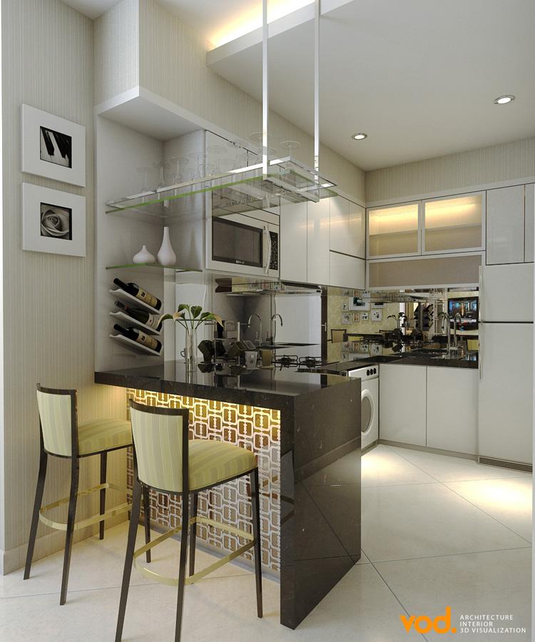 Desain interior apartemen studio jakarta apartment for Apartment design jakarta