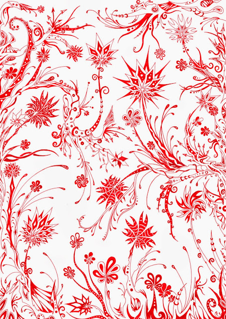 Dessins Fantastiques Jungle+rouge+2+web