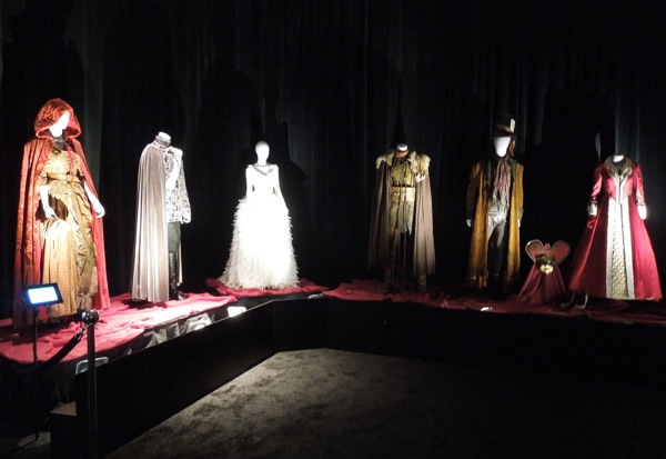 Once Upon A Time TV costume exhibit
