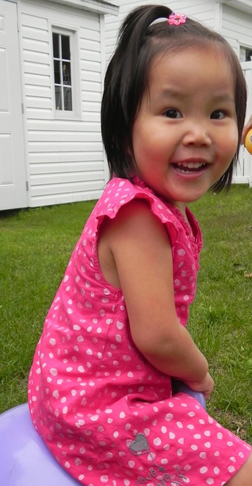 Noémie 2 ans 10 mois