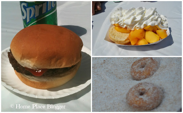 Food at Lyman Orchards PeachFest