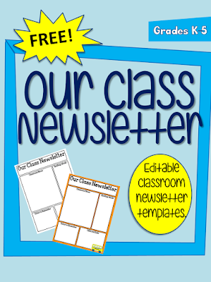 one teacher s adventures freebie editable classroom newsletter