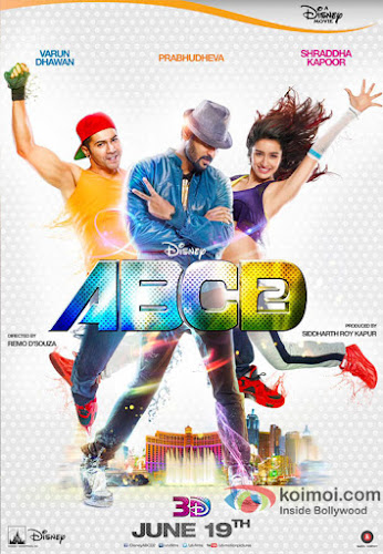 ABCD - Any Body Can Dance 2 (2015) Movie Poster No. 2
