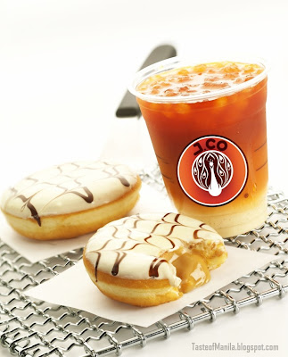 Iced Thai Tea with Why Nut donut