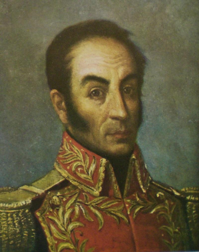 WARRIORS HALL OF FAME: Simón Bolívar (1783-1830 ...