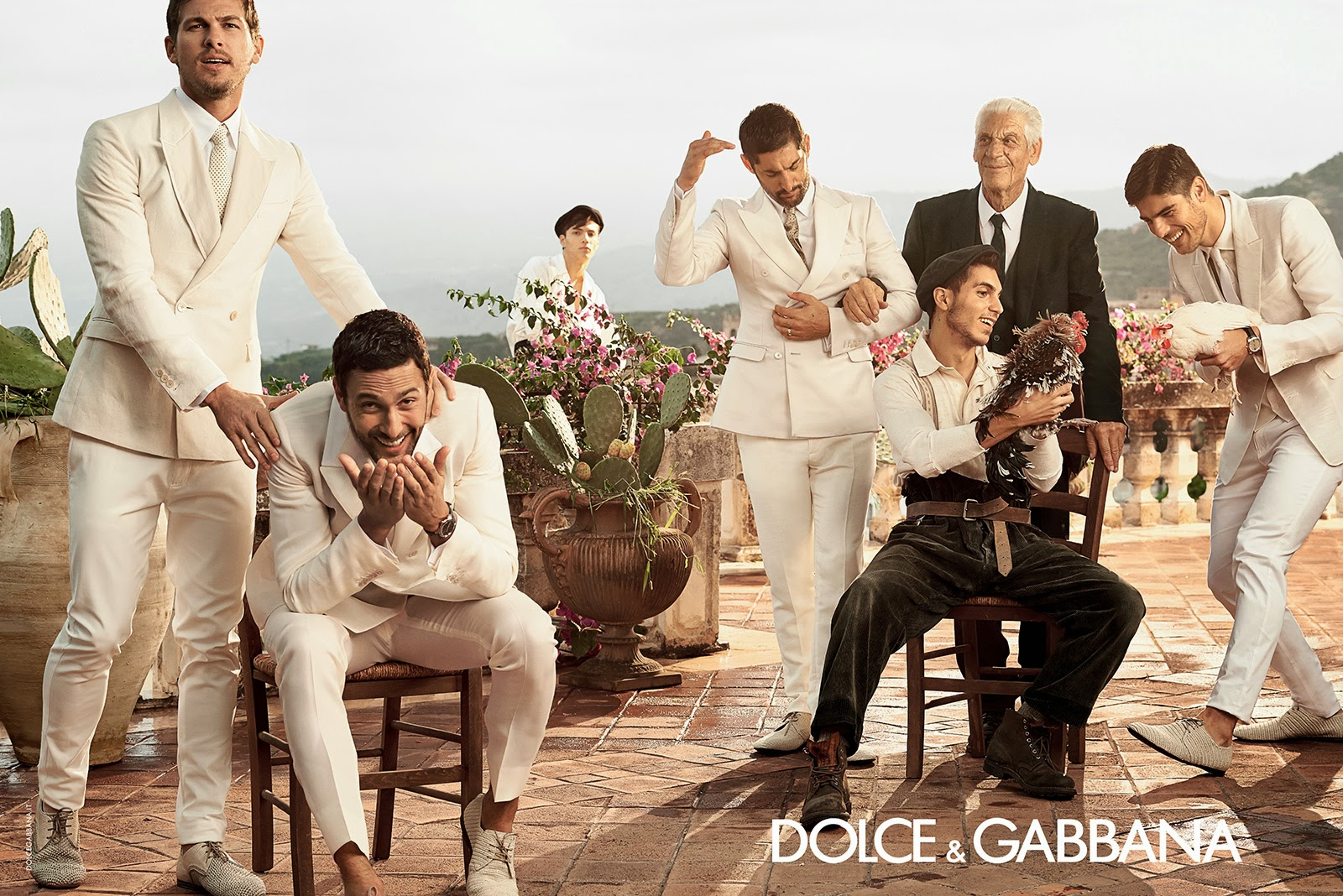 Dolce & Gabbana Man Spring Summer 2014 | Ideas That Come Out
