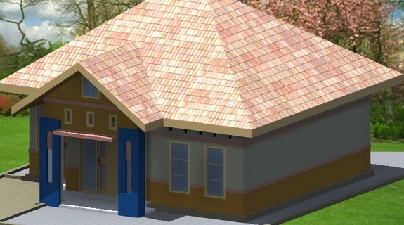 bentuk atap rumah limas