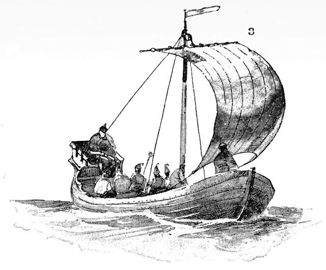 Gambar Kapal Layar Cog lukisan