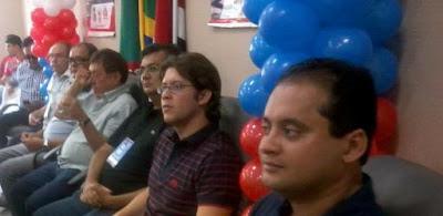 Flávio Dino e Weverton Rocha em Caxias