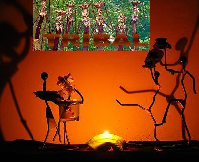 Tribal, tribal house és tribal trance zenék