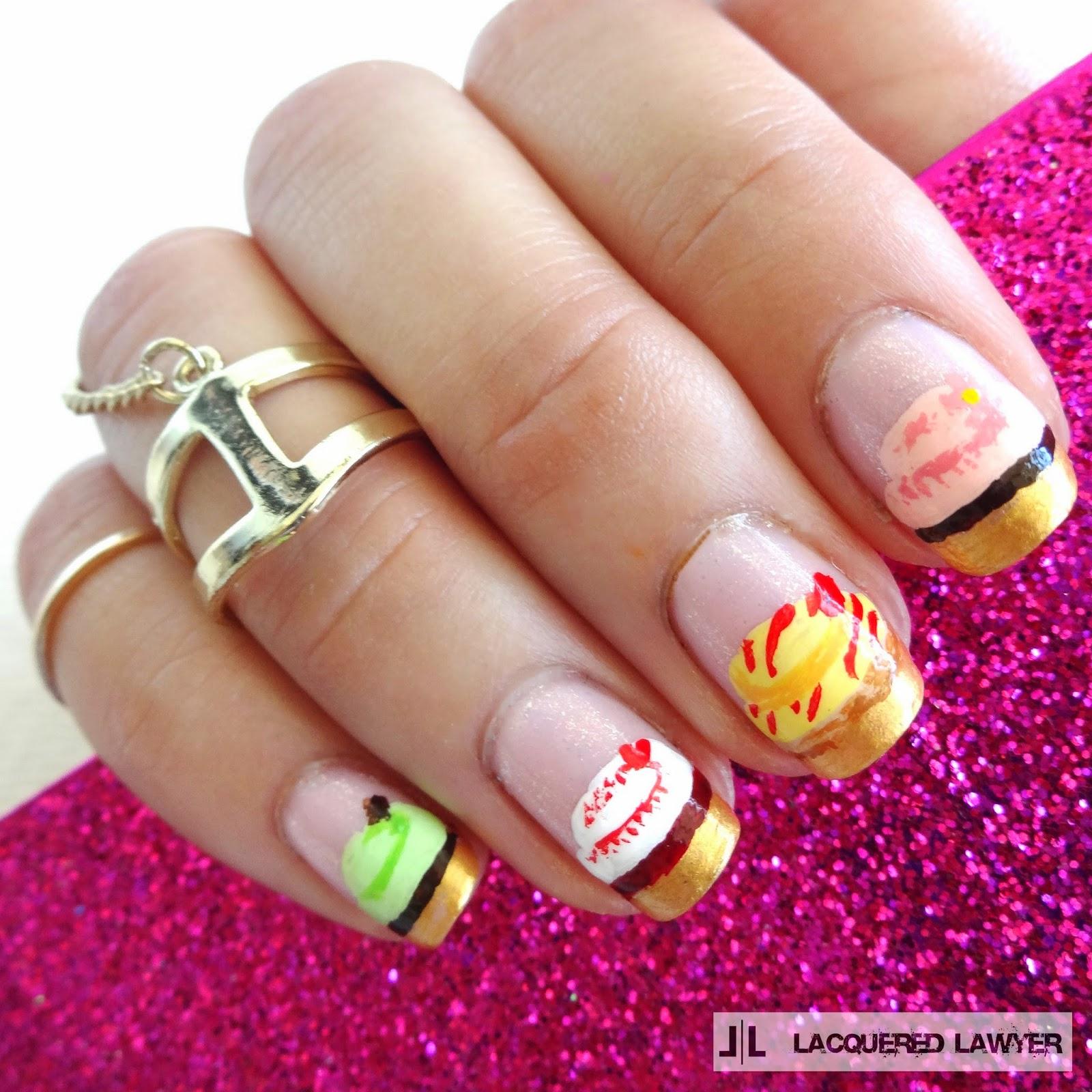 Cupcake Nails