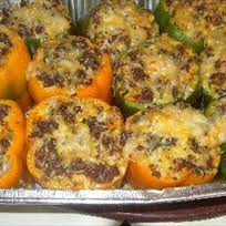 how to make stuffed bell peppers with ground beef