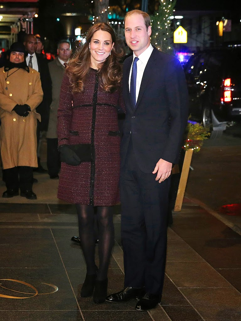 William and Kate in N.Y at The Carlyle