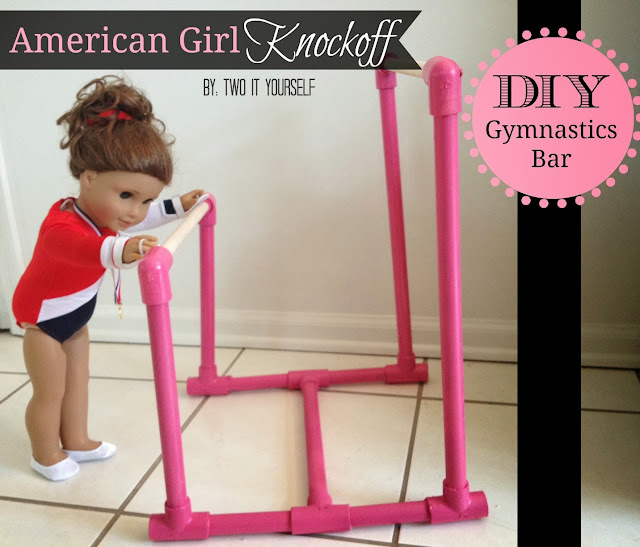 http://www.twoityourself.com/2013/12/diy-american-girl-gymnastics-bar.html