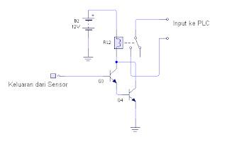 rangkaian driver relay