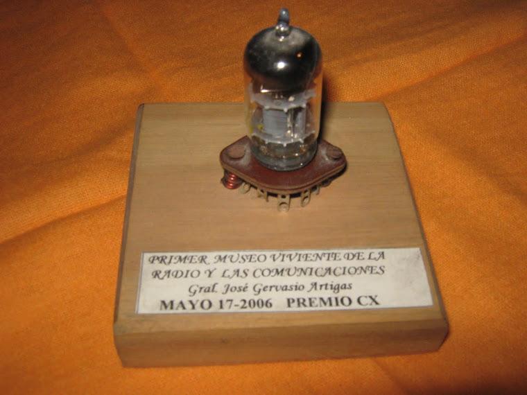 """Premio CX al Programa """"Proyección a la Antártida"""" - 17 de mayo de 2006"""