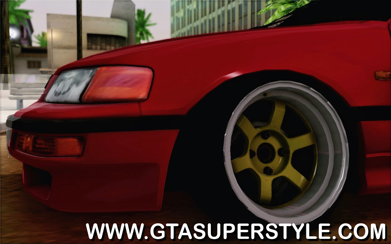 GTA SA - Honda CRX Low Gang