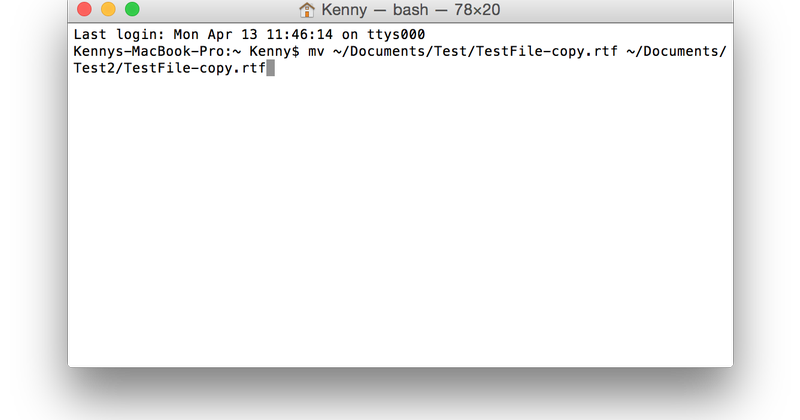 Introduction to the Mac OS X Command Line