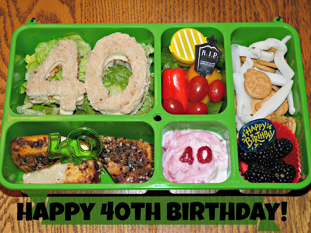GoGreen 40th Birthday Bento