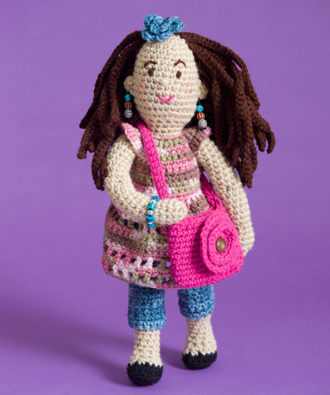 Crochet Pattern Human Doll : 2000 Free Amigurumi Patterns: Free Fashionista Farrah Doll ...