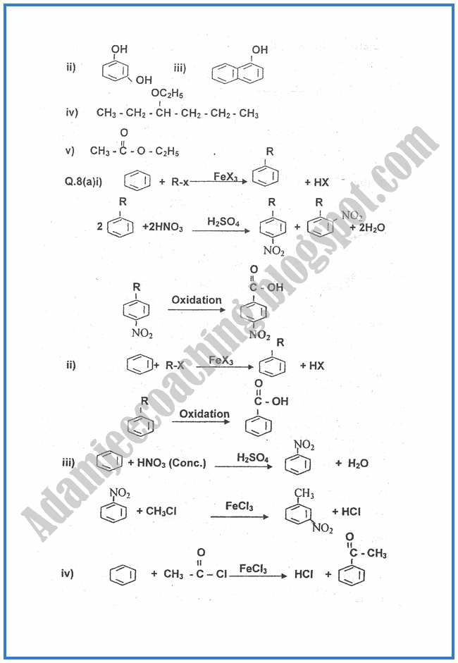 Chemistry-Numericals-Solve-2009-past-year-paper-class-XII