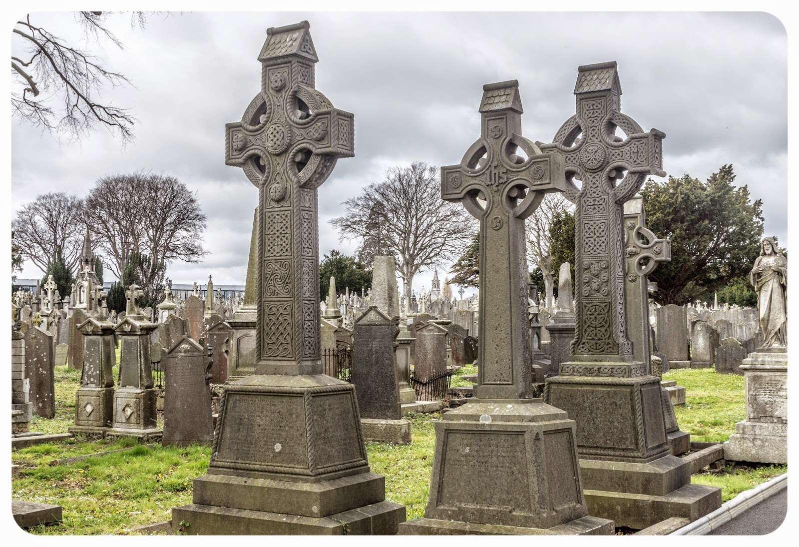 Glasnevin Cemetery in Dublin, Ireland