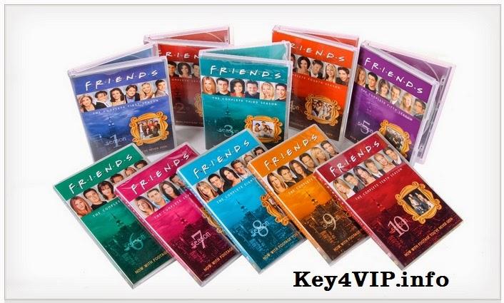 Bộ DVD luyện nghe nói tiếng Anh Friends Complete Seasons 1-10 Full ( Có Sub )