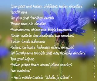kauniita runoja luonnosta Viitasaari