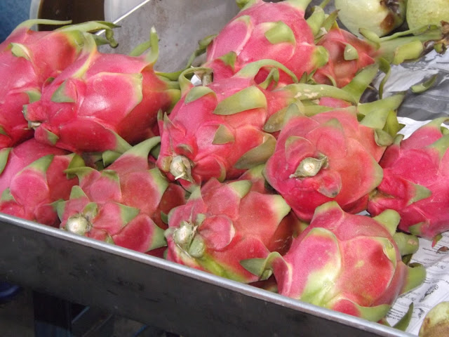 thaïlande, Ayutthaya, tamarind, night market, dragon fruits